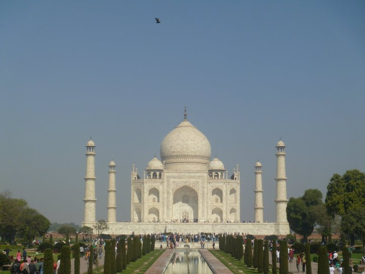 Agra, ciudad del Taj Mahal